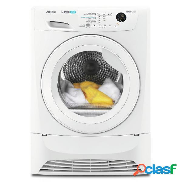 Secadora Condensación - Zanussi ZDH8353W Blanco 8 kg