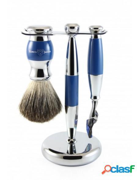 Set Gillette Fusion Proglide razor, shaving brush synthetic