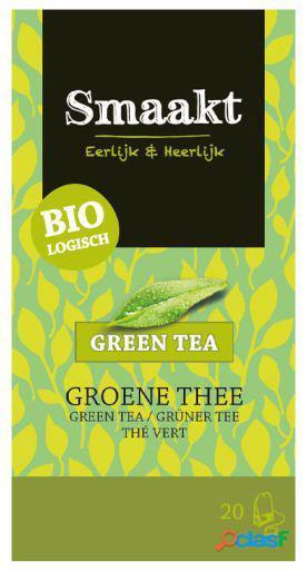 Smaakt Té Verde 20 Filtros