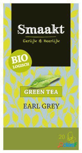 Smaakt Té Verde Earl Grey 20 Filtros