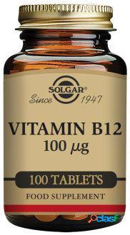 Solgar Vitamina B12 100 mcg 100 Comprimidos