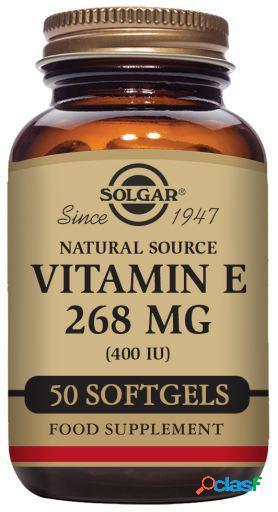 Solgar Vitamina E 400 ui 268 mg Cápsulas 100 Unidades