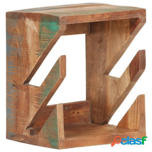 Soporte para monopatín de pared madera reciclada 25x20x30