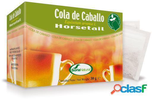 Soria Natural Cola Caballo Infusion 20 Unidades