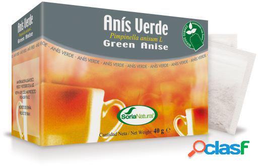 Soria Natural Infusión de Anís Verde 20 Filtros