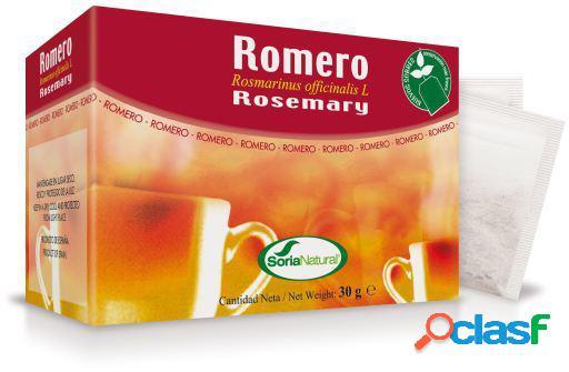 Soria Natural Infusión de Romero 20 Filtros