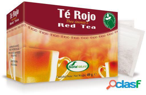Soria Natural Té Rojo Natural en Infusión 20 Filtros