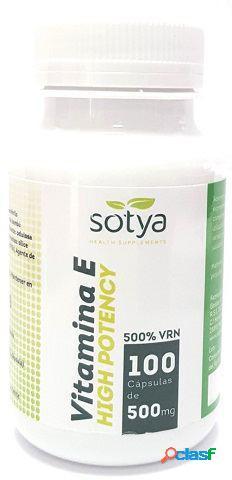 Sotya Vitamina E High Potency 100 Capsulas