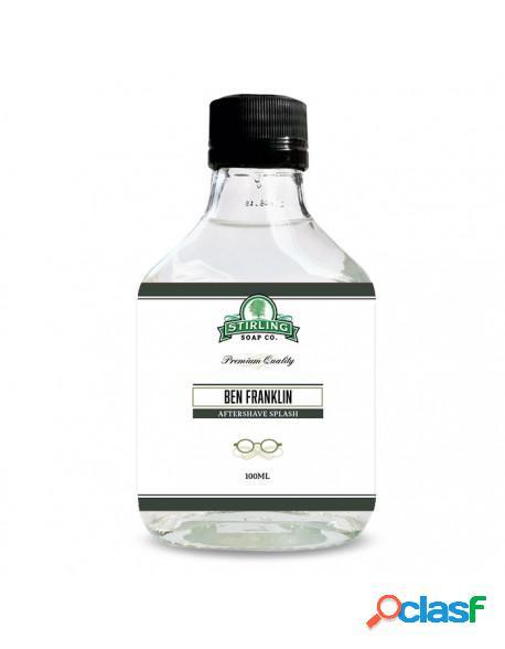 Stirling Soap Co Ben Franklin After Shave Splash 100ml