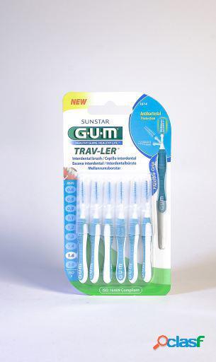 Sunstar Gum Cepillo Interdental 1.6 mm Trav-ler 6 uds 19 gr
