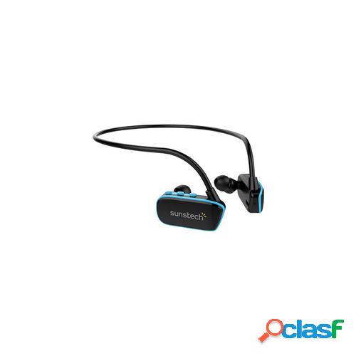 Sunstech ARGOS Reproductor de MP3 Negro, Azul 4 GB