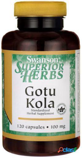 Swanson Gotu Kola Extract 100 mg 120 Capsulas 125 gr