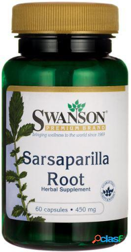 Swanson Sarsaparilla Root 450 mg 60 Capsulas 50 gr