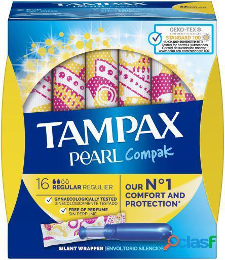 Tampax Tampón Pearl Regular 16 unidades