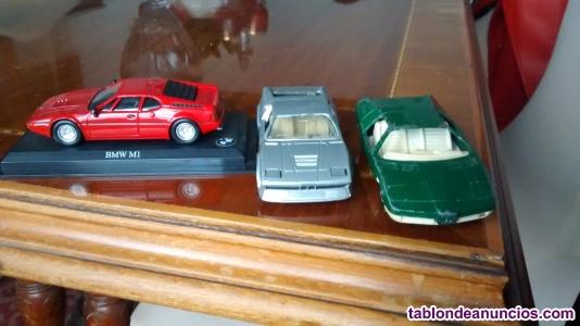 Tres BMW`S escala 1/43
