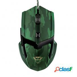 Trust GXT 101D Gav Ratón Gaming 4800DPI Verde
