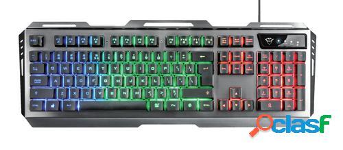 Trust GXT 845 Tural teclado USB Español Negro