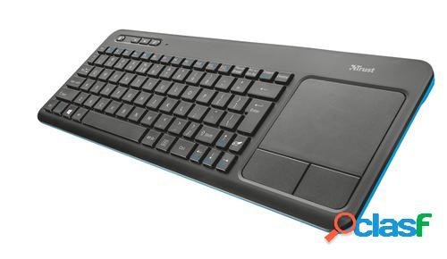 Trust MULTIMEDIA INALAMBRICO WRLS teclado RF inalámbrico