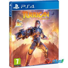 Turrican Flashback PS4