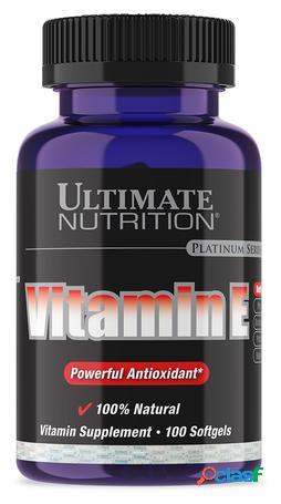 Ultimate Nutrition Vitamin E 100 Cápsulas Blandas