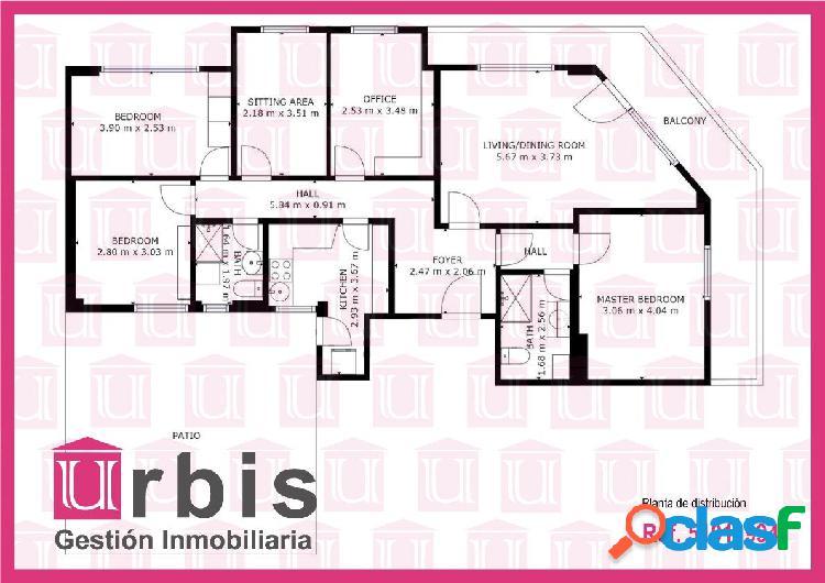 Urbis te ofrece un piso en venta en zona San Juan,