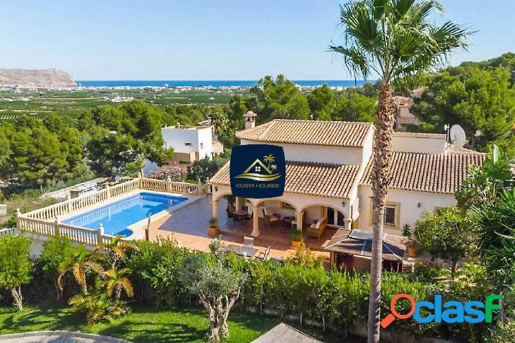 ᗤ VISTAS AL MAR en Javea | Villa Mediterránea de 4