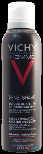 Vichy Homme Espuma Afeitar Piel Sensible 200 ml 200 ml