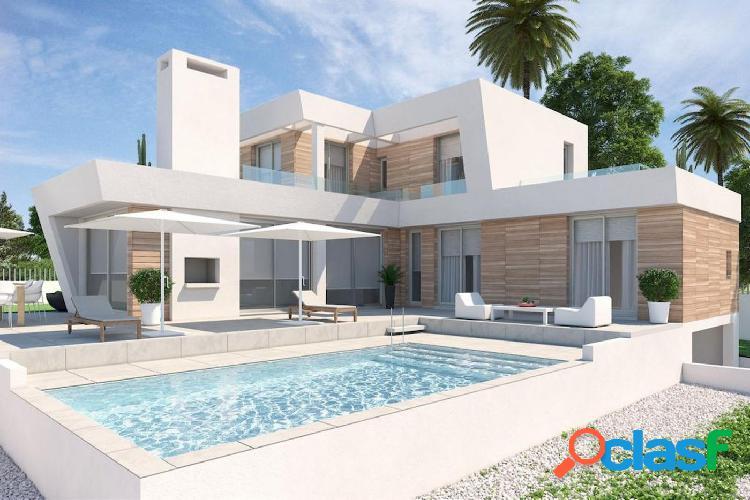 Villa moderna en