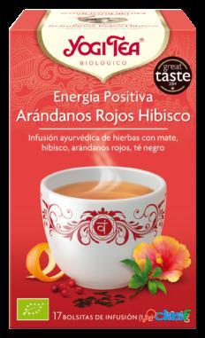 Yogi Tea Energía Positiva Arandanos Rojos 17 Bolsitas