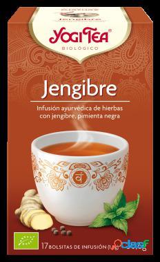 Yogi Tea Jengibre Infusión Pimienta Negra 17 Bolsitas