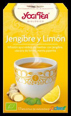 Yogi Tea Té Jengibre y Limón 17 Bolsitas