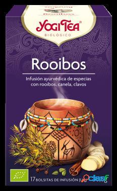 Yogi Tea Té Rooibos Infusión 17 Bolsitas