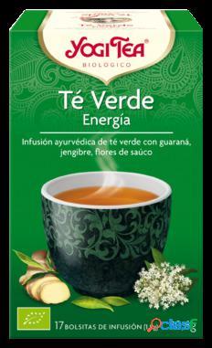 Yogi Tea Té Verde Energia 17 Bolsitas
