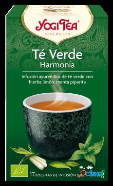 Yogi Tea Té Verde Infusion Harmony 17 Bolsitas