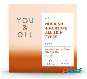 You&Oil Jabón Nutritivo para Todo Tipo de Pieles 100 gr 100