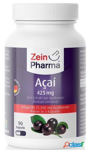Zein Pharma Acai 425 mg 90 Cápsulas