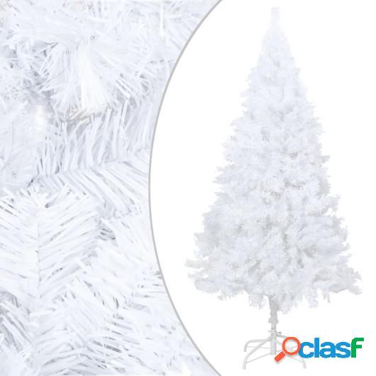 Árbol de Navidad artificial con ramas gruesas PVC blanco