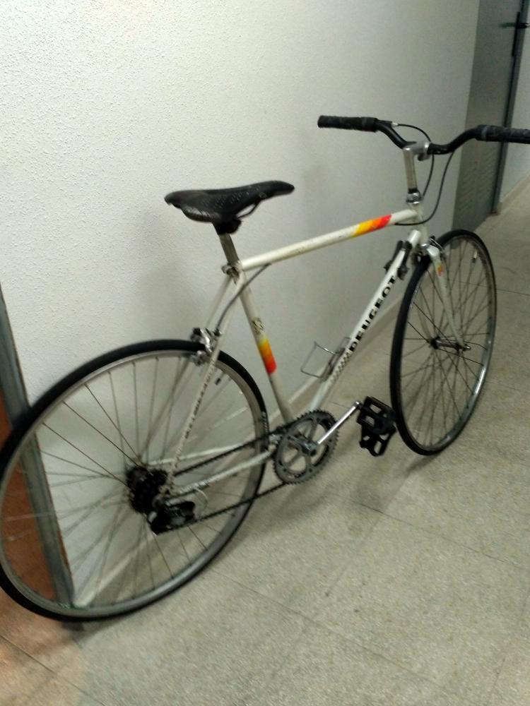 Bicicleta de paseo clasica.