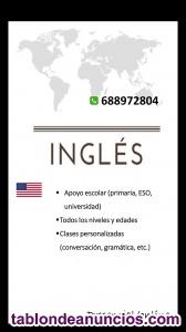 Clases de inglés particulares