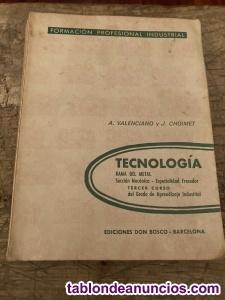 Tecnología Rama del Metal Segundo y Tercer Curso (Ajustador