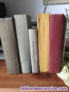 Libros Antiguos (Coleccionismo Lote 6)