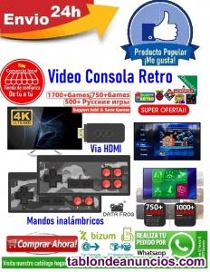 Vendo video consola retro