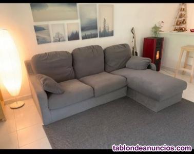 Se vende sofá chaiselongue