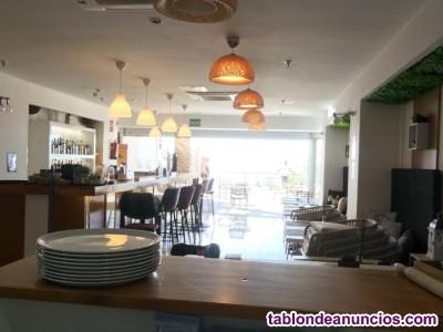 Traspaso restaurante en primera linea de playa