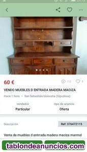 Vendo muebles de.entrada