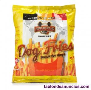 Chips para perros. Snack saludable. 35 Cajas de 24 uds