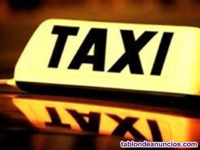 Se tranfiere licencia de taxi en castro urdiales