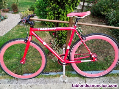 Bicicleta de paseo fixie