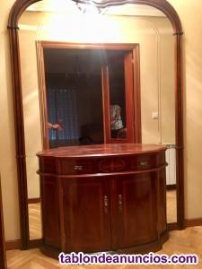 Mueble Espejo de Entrada