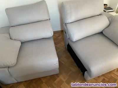 Sofá de dos plazas modulare